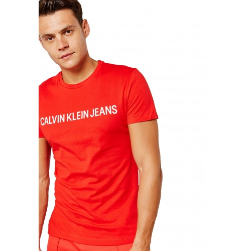 ΑΝΔΡΙΚΑ ΡΟΥΧΑ T-shirt     Calvin Klein Racing Red/Bright White