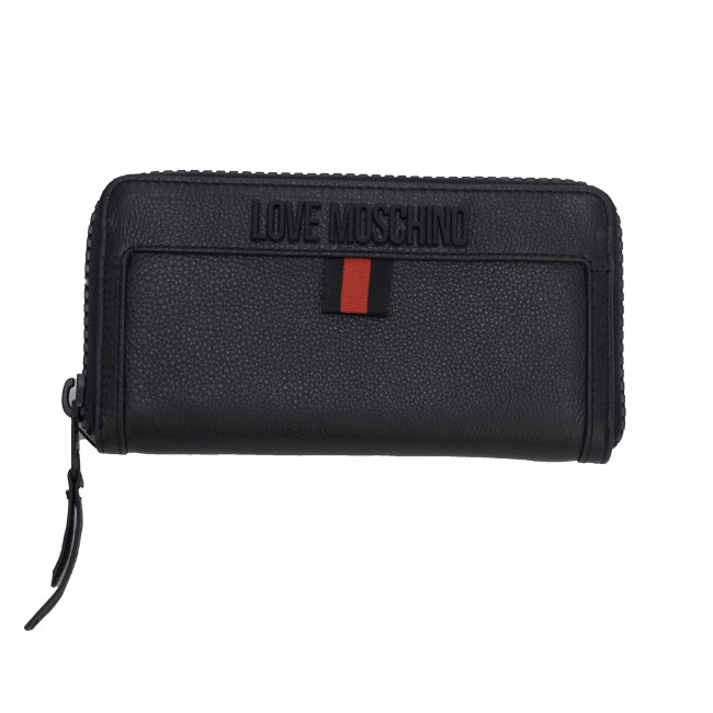 Πορτοφόλια Love Moschino Black