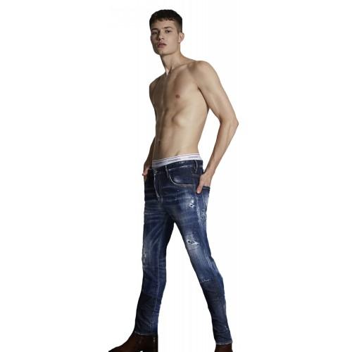 ΑΝΔΡΙΚΑ ΡΟΥΧΑ Jeans     Dsquared2 Blue