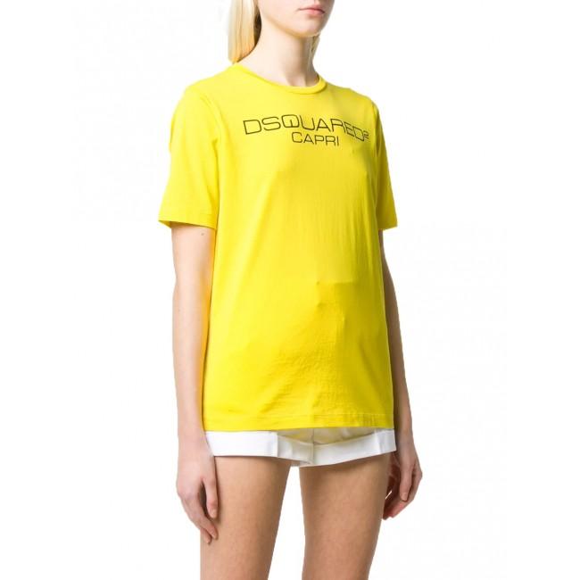 Γυναικεία  ΡΟΥΧΑ T-shirt Dsquared2 Yellow