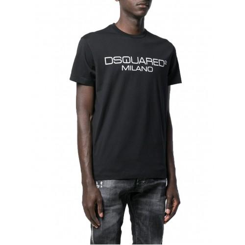 ΑΝΔΡΙΚΑ ΡΟΥΧΑ T-shirt     Dsquared2 Black