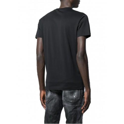 ΑΝΔΡΙΚΑ ΡΟΥΧΑ T-shirt     Dsquared2 Black ΝΕΕΣ ΠΑΡΑΛΑΒΕΣ S74GD0644-S22844-900