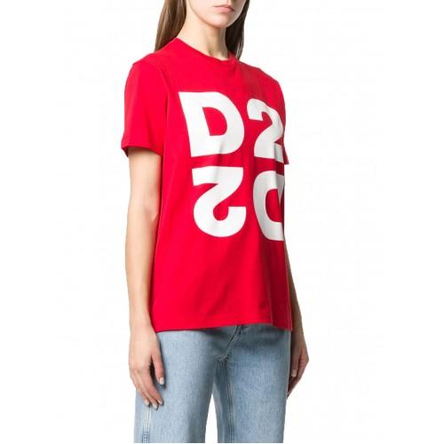 ΓΥΝΑΙΚΕΙΑ ΡΟΥΧΑ T-shirt     Dsquared2 Red