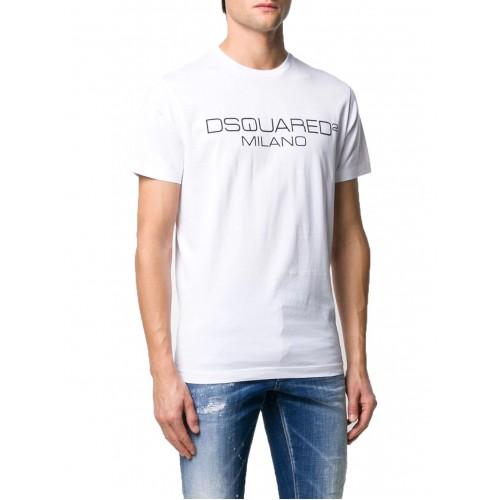 ΑΝΔΡΙΚΑ ΡΟΥΧΑ T-shirt     Dsquared2 White