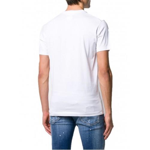 ΑΝΔΡΙΚΑ ΡΟΥΧΑ T-shirt     Dsquared2 White ΝΕΕΣ ΠΑΡΑΛΑΒΕΣ S74GD0644-S22844-100