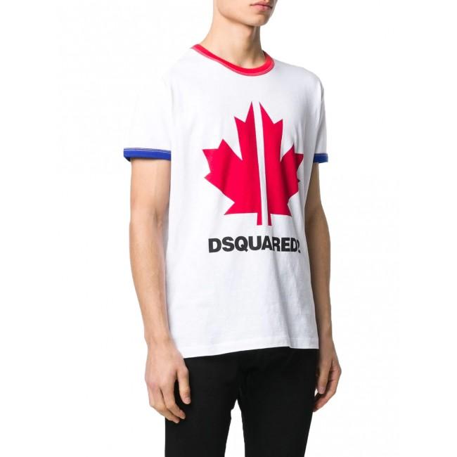 Ανδρικά  ΡΟΥΧΑ T-shirt Dsquared2 White