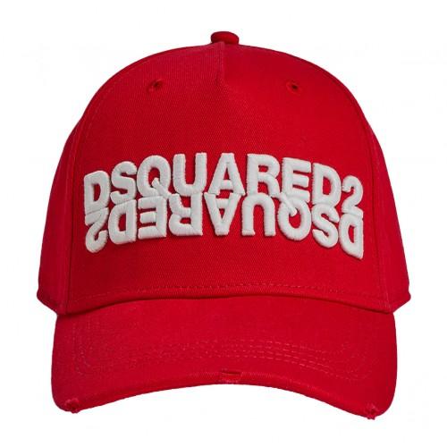 ΑΝΔΡΙΚΑ ΑΞΕΣΟΥΑΡ Καπέλα     Dsquared2 Red